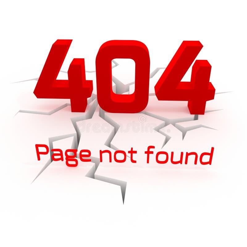 Creative error 404 banner 3D vector illustration