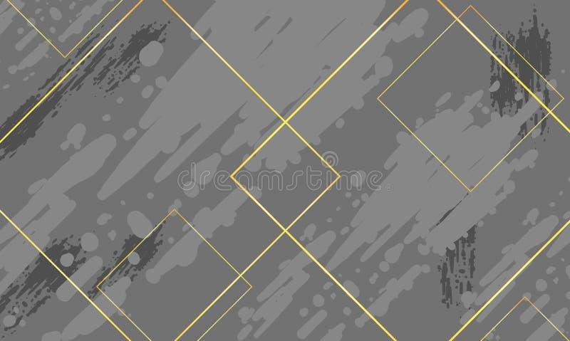 Creative geometric wallpaper. Gradient Background. Geometric elements vector illustration