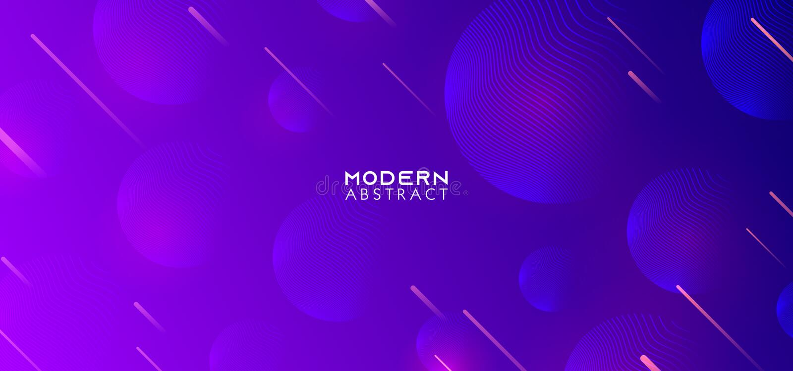Creative geometric wallpaper. Ultra violet blue and purple colors. Trendy gradient shapes composition. Vector Eps10 vector. Background, pattern, graphic vector illustration