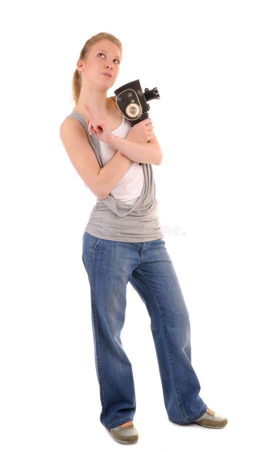 Creative girl stock photos