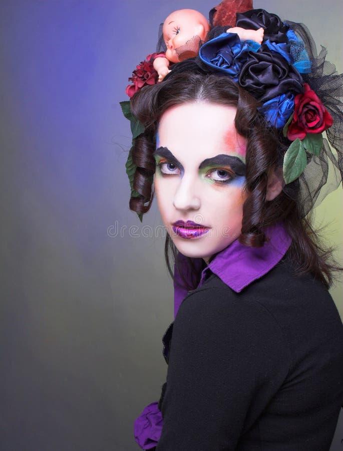 Download Creative girl stock image. Image of creative, fashion - 39879077
