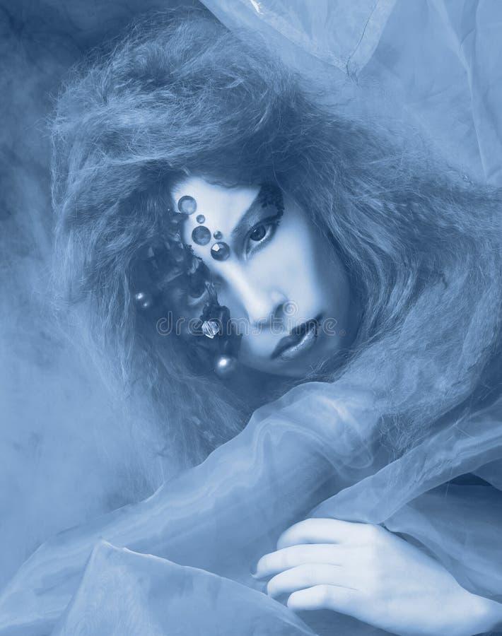Download Creative girl. stock image. Image of caucasian, hair - 37471233