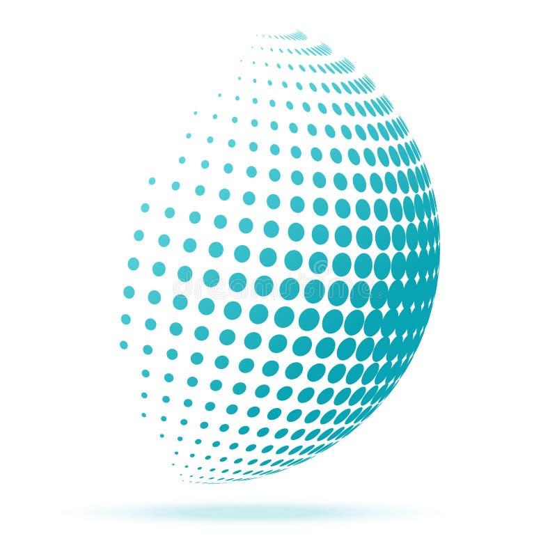 Creative Globe Concept Logo Design Template. Eps 10 stock illustration