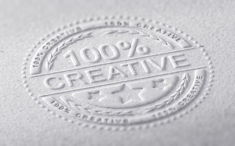 Creative Graphic Design royalty free illustration