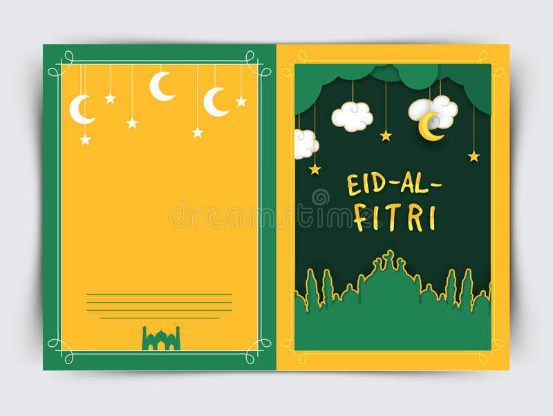 Creative greeting card with mosque for eid stock illustration download creative greeting card with mosque for eid stock illustration illustration of festival m4hsunfo