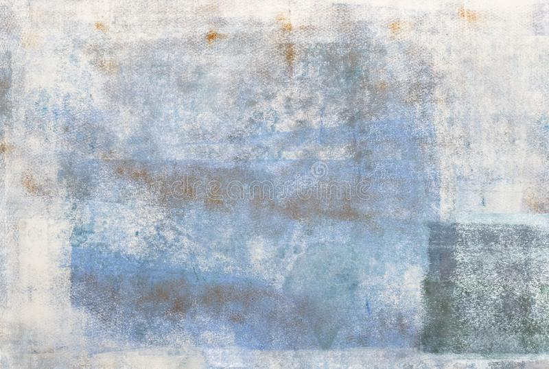 Handmade Creative Abstract Background. Creative grunge abstract background painted with acrylics on paper stock photos