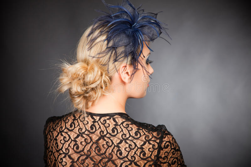 Download Creative hairstyle stock image. Image of background, dark - 17891055