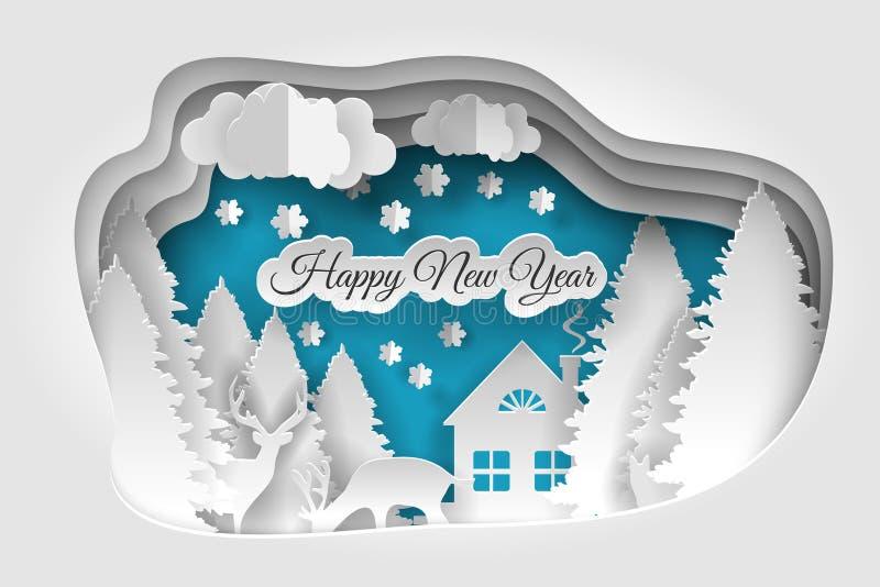 Creative happy new year 2019 design. vector illustration