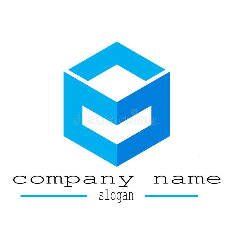 Company Hexagon Logo . Template Business Identity Icon