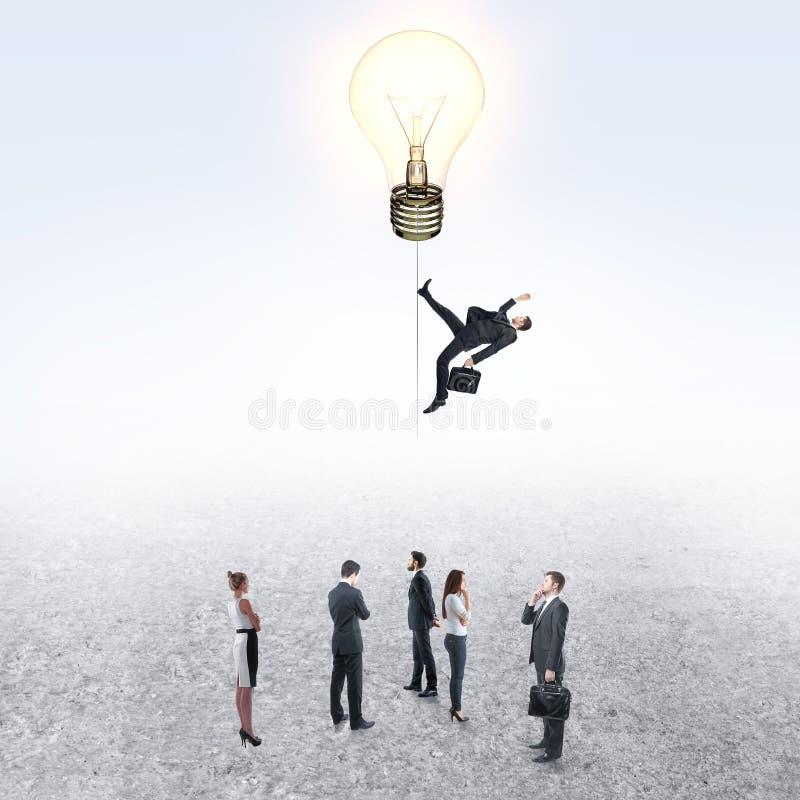 Innovation and success concept. Creative idea background with people. Innovation and success concept stock image