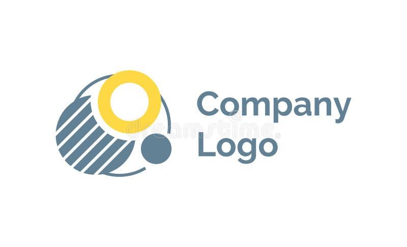 Creative Idea for Company Label, Logotype Vector απεικόνιση αποθεμάτων