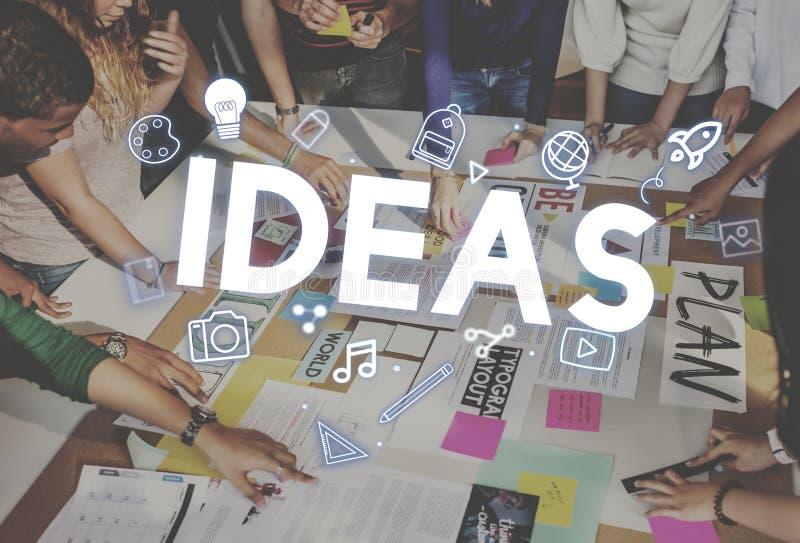 Creative Ideas Design Imagination Innovation Concept. Creative Ideas Design Imagination Innovation stock image