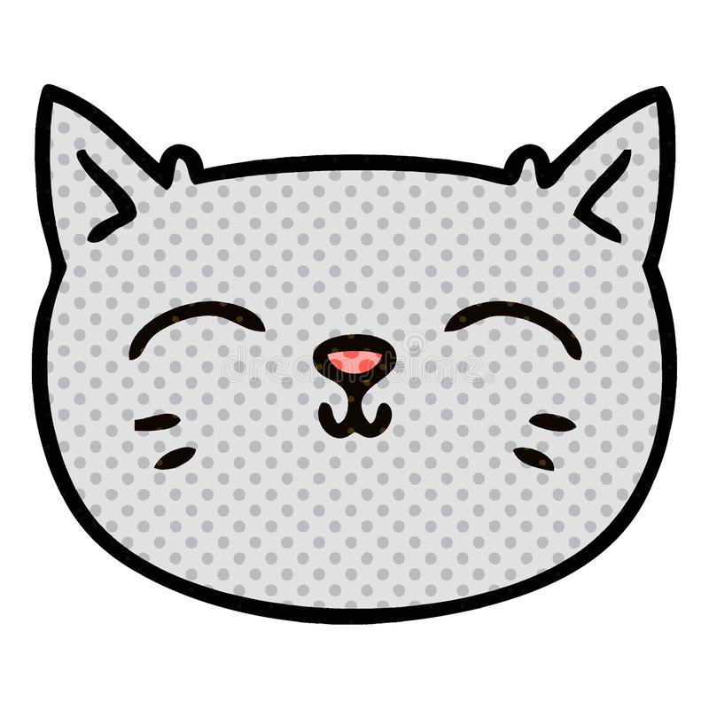 Cat Kitten Pussy Face Pet Animal Cute Cartoon Character Doodle Drawing Illustration Art Artwork Funny Crazy Quirky Comic Book Style Stock Illustrations 2 Cat Kitten Pussy Face Pet Animal Cute Cartoon