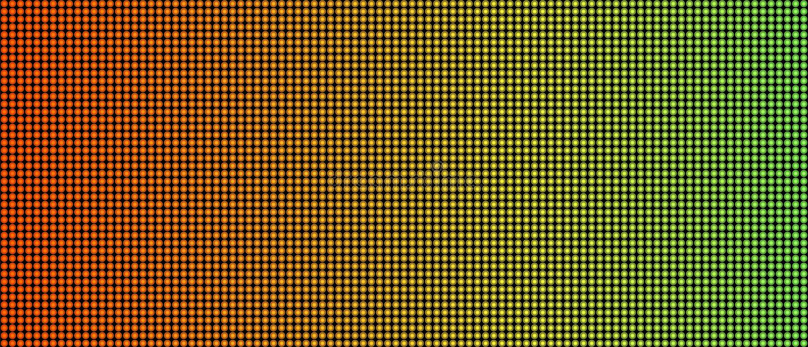 Creative illustration of led screen macro texture isolated on background. Art design rgb diode seamless pattern. Abstract concept. Graphic television projection vector illustration