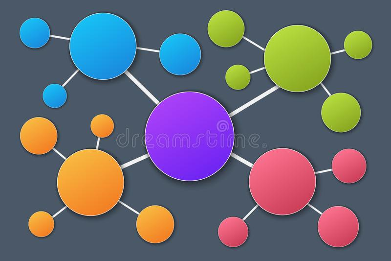 Blank Mind Map Stock Illustrations 212 Blank Mind Map Stock Illustrations Vectors Clipart Dreamstime
