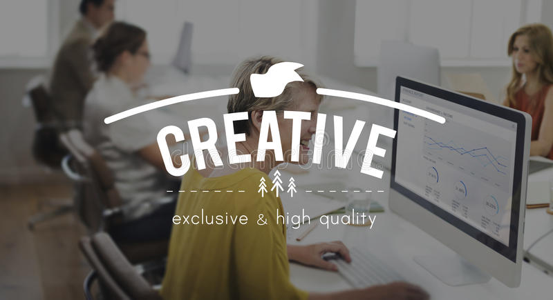 Creative Imagination Innovation Invention Modern Concept royalty free stock photos