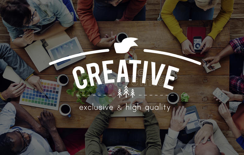 Creative Imagination Innovation Invention Modern Concept.  royalty free stock photo