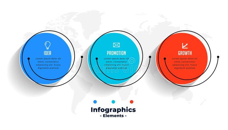 Creative infographics design for business data visualization vector illustration