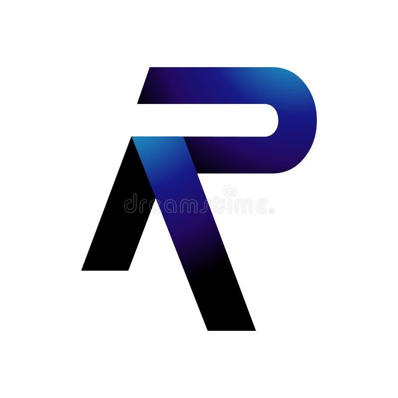 creative initial letter R logo design vector graphic concept vector illustration