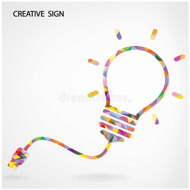Free Creative Light Bulb Idea Concept Background Royalty Free Stock Photo - 43462945