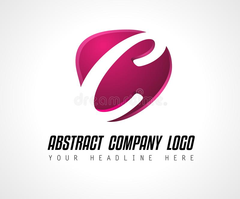 Creative Logo letter C design for brand identity, company profile or corporate logos royalty free illustration