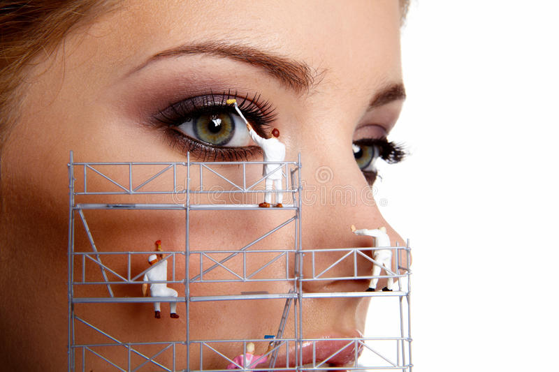 Download Creative make up painters stock photo. Image of shine - 20261330