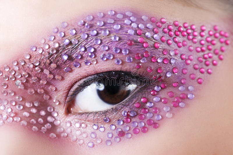 Creative makeup stock images