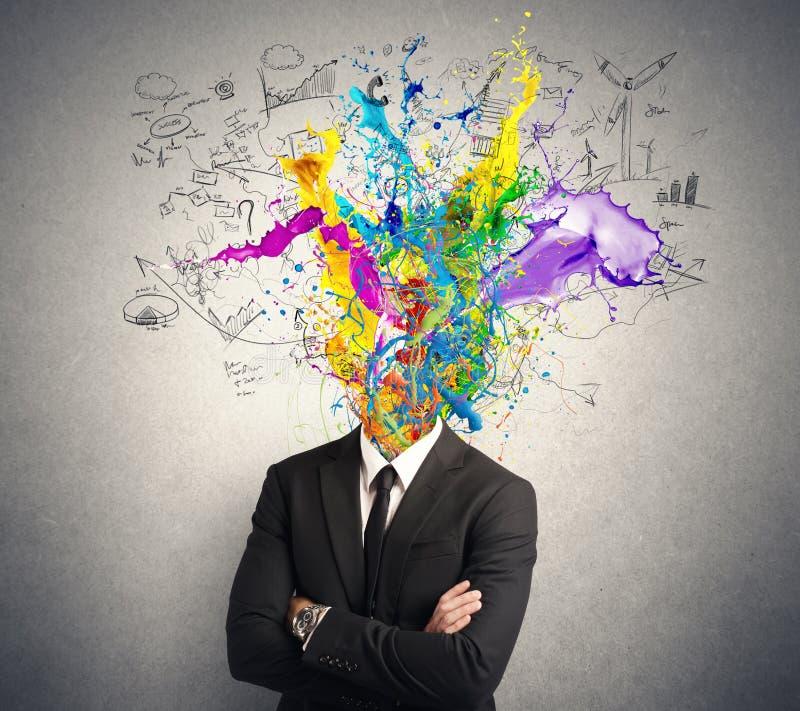Creative mind royalty free stock photos