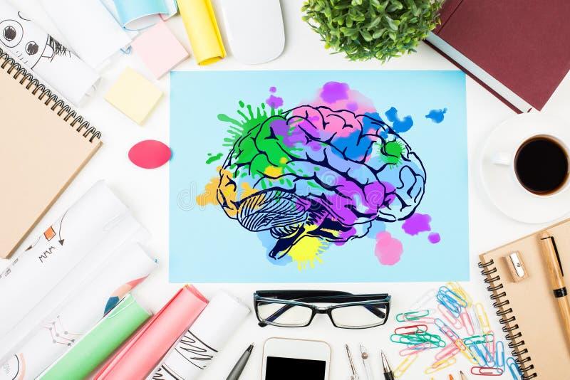 Download Creative Mind Concept Stock Illustration - Image: 91466287