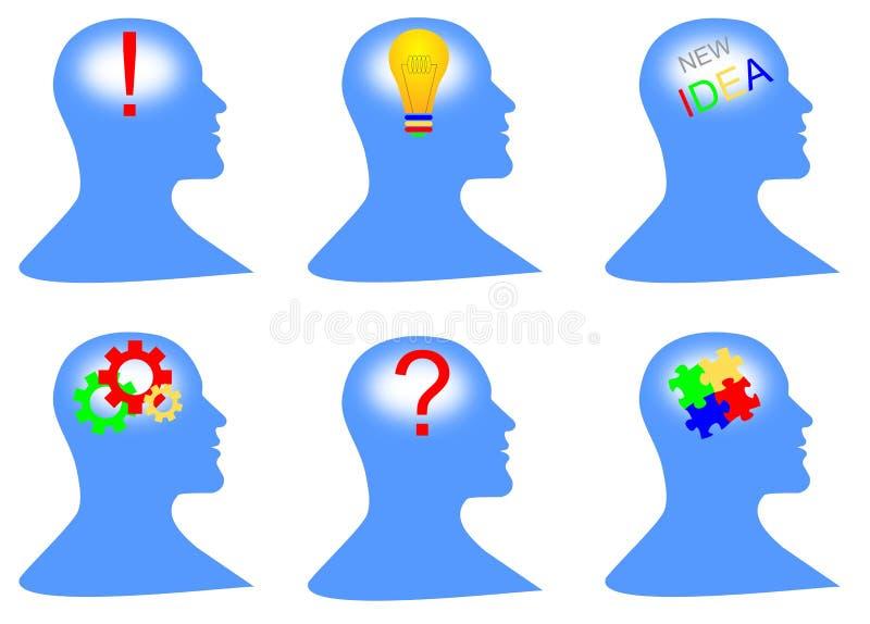 Download Creative Minds stock illustration. Image of solution - 24769718