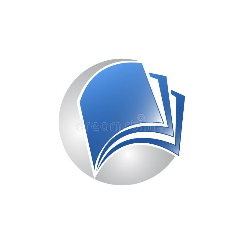 creative open book logo vector, Book color logo, School books, Education books vector illustration
