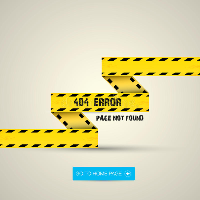 Creative page not found, 404 error royalty free stock images