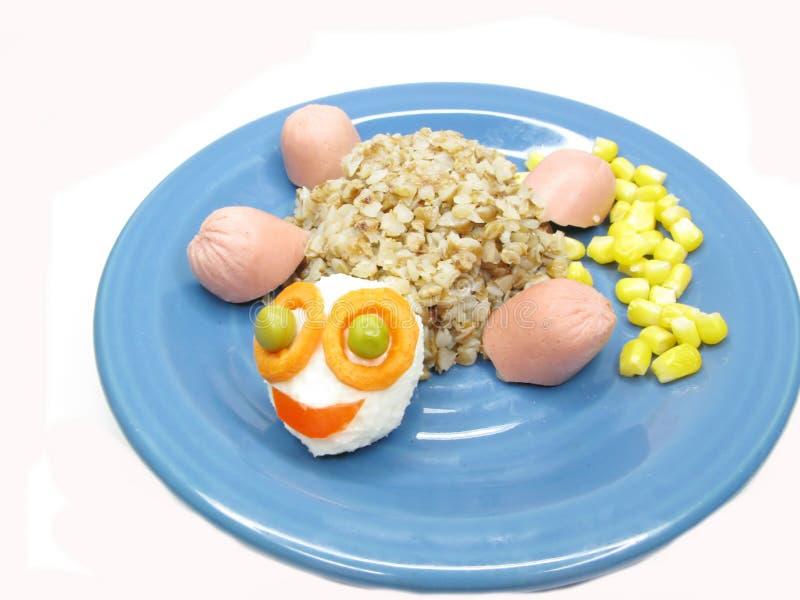 Creative porridge tortoise animal shape stock image