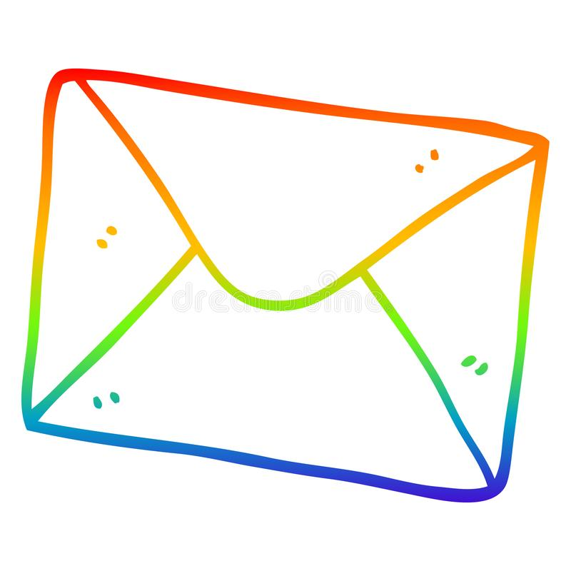 Letter Letters Envelopes Writing Communication Snail Mail Cartoon ...