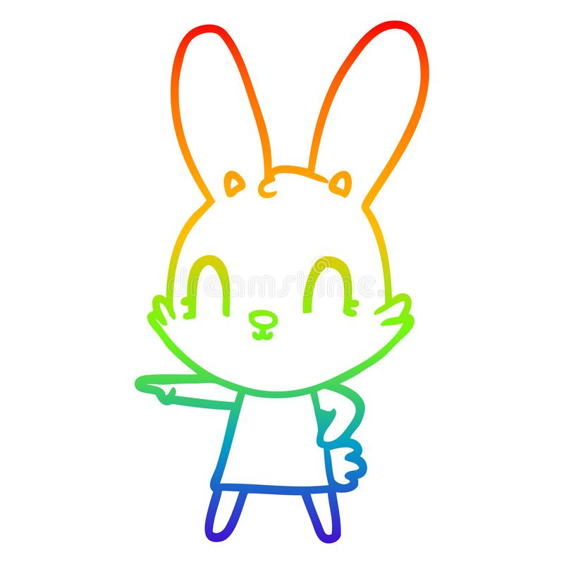 Bunny in Dress Original art 3