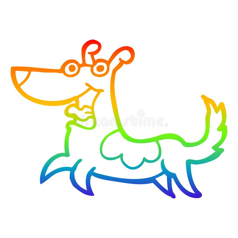 Happy Dog Drawing Clip Art Free