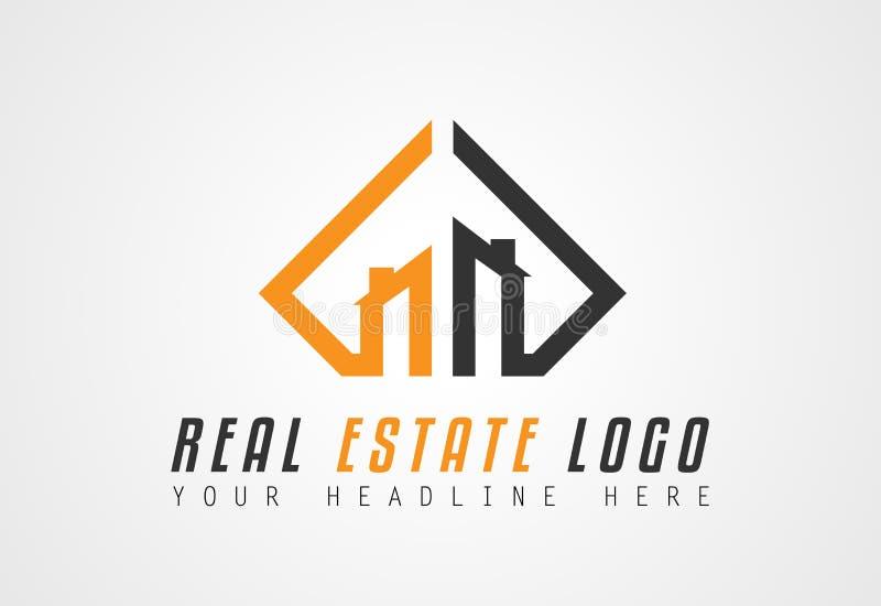 Creative Real Estate Logo design for brand identity, company profile vector illustration