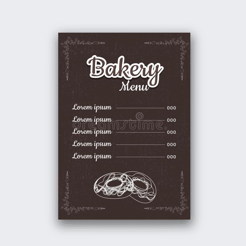 Restaurant Menu Card design, single page design. Creative Restaurant Menu Card design, single page design vector illustration