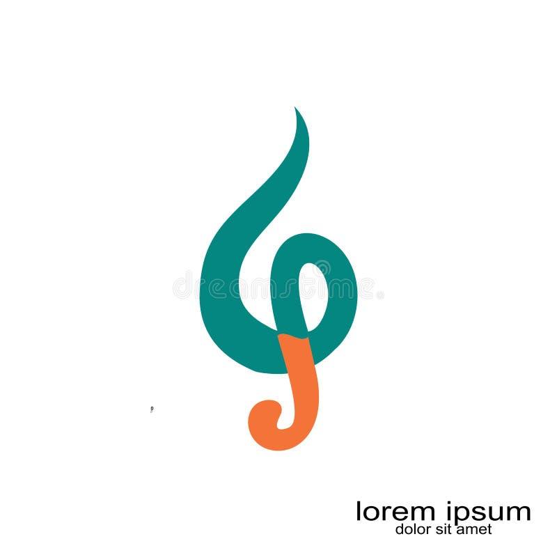 Abstract B p letter logo design. Creative sample design b p letter logo stock illustration