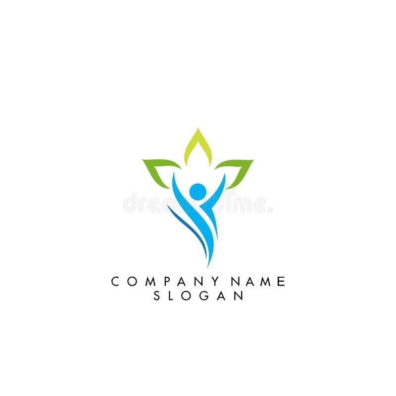 People logo design stock illustration