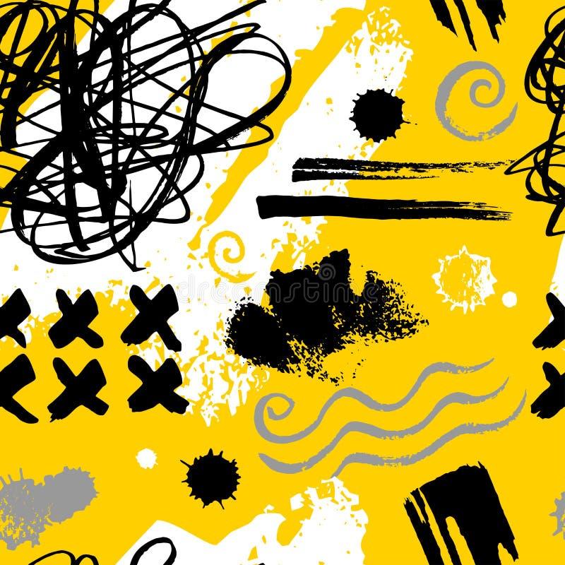 Creative Seamless pattern stock illustration