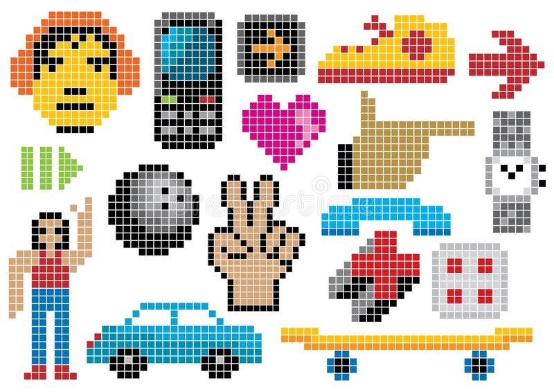 Download Creative set #27 stock vector. Image of collection, headphones - 13535606