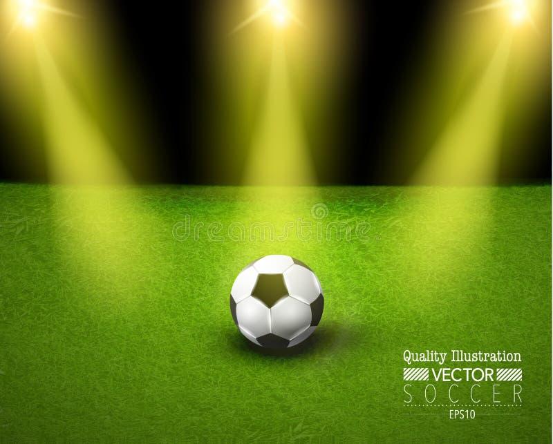 Creative Soccer Football Sport Vector Illustration stock illustration