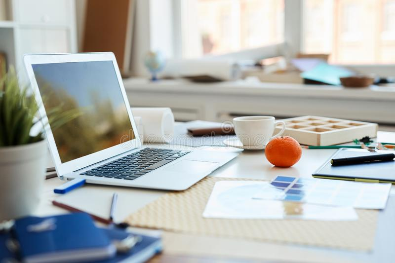 Creative space for work royalty free stock images