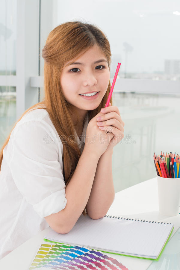 Creative student stock photos