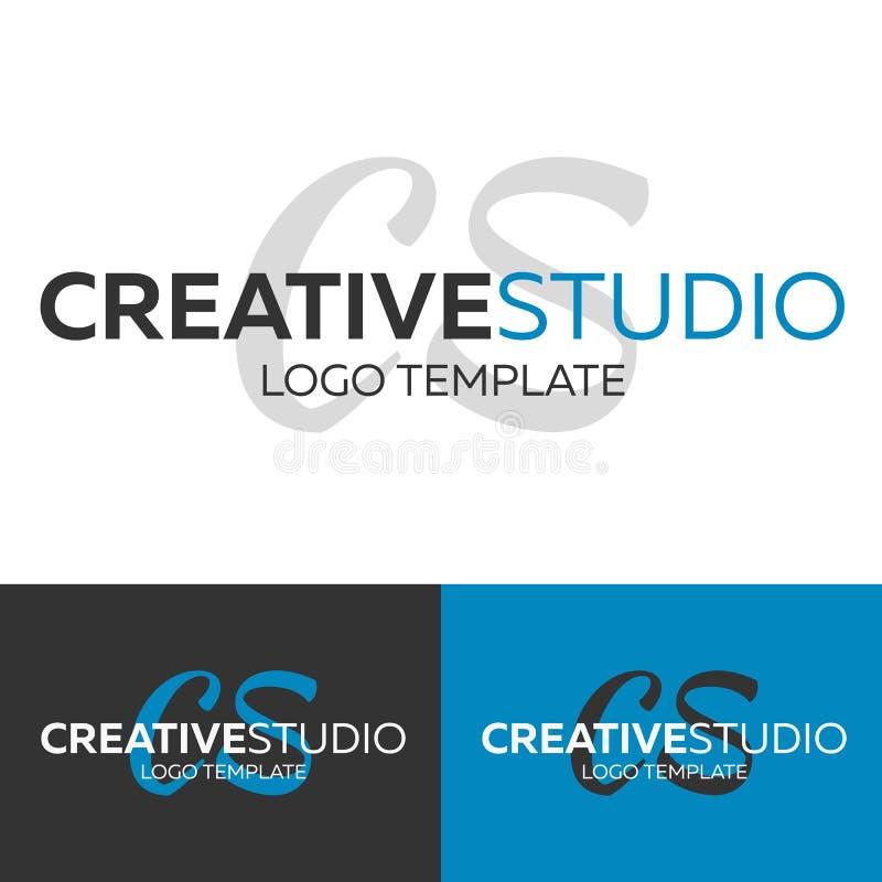 Creative Studio logo. Letter C logo. Vector logo template. Logotype concept. stock illustration