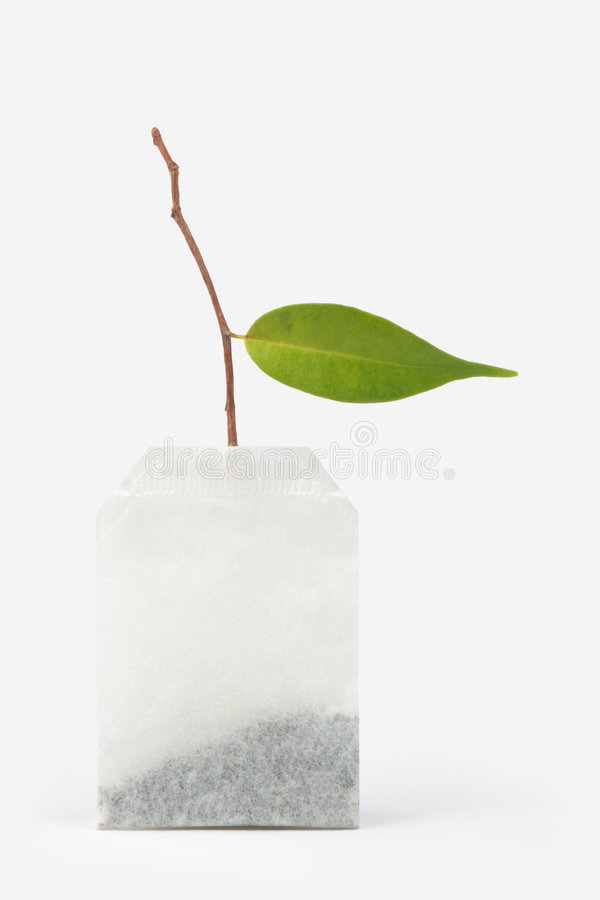 Creative teabag royalty free stock images