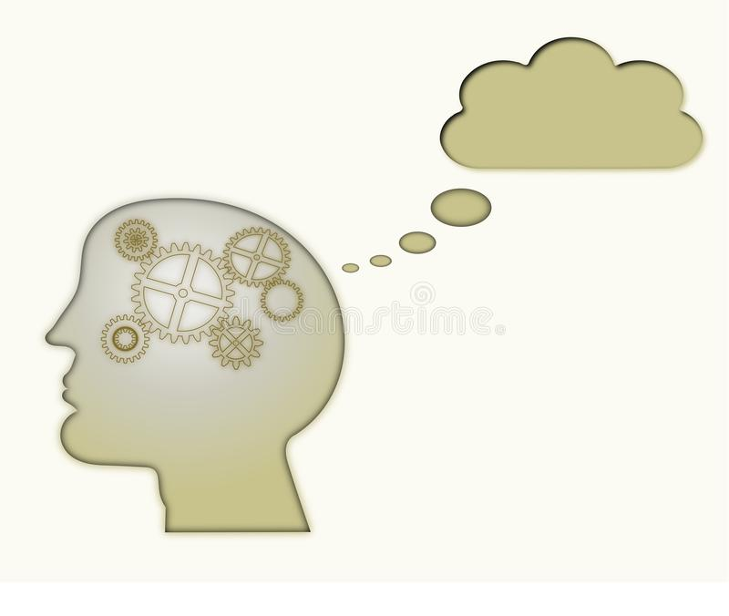 Download Creative Thinking stock illustration. Image of career - 24236726