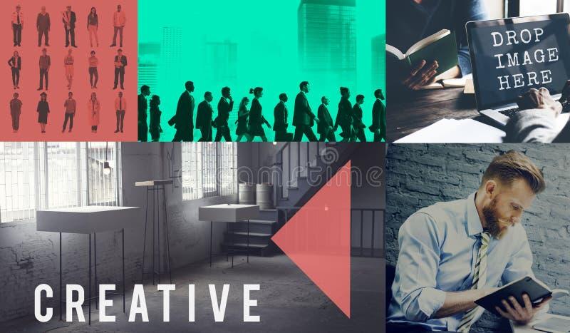 Creative Thinking ideas Imagination Innovation Inspiration Concept.  royalty free stock photos