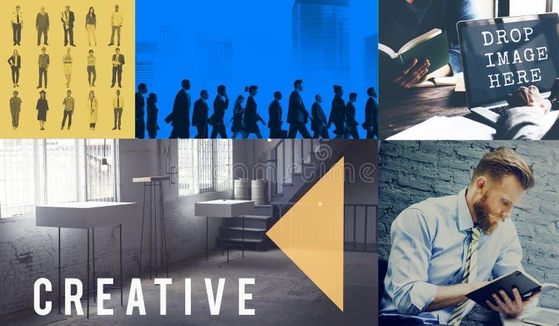 Creative Thinking ideas Imagination Innovation Inspiration Concept stock image